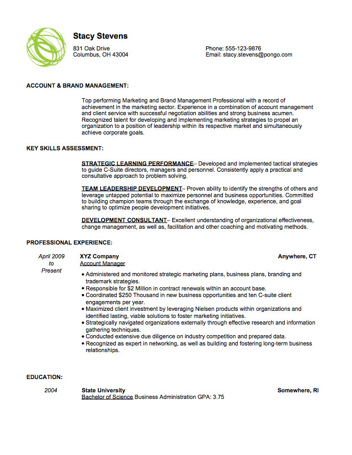 pongo resume review